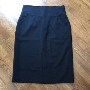Laundry Black High-waisted Pencil Skirt 12